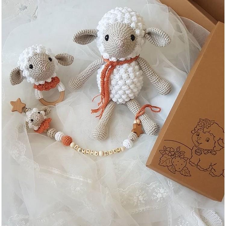Amigurumi Minik Kuzu Yapımı | Amigurumi modelleri, Serbest örgü ... | 750x750